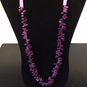 Purple Necklace - Add this to your bundle!